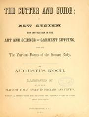 Cover of: The cutter and guide by Augustus Koch