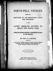Cover of: North-Pole voyages | Z. A. Mudge