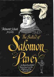 Cover of: The Ballad of Salomon Pavey | Jeremy James Taylor and David Drew-Smythe