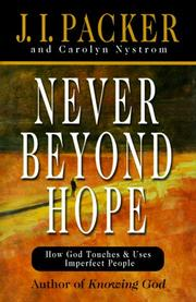 Cover of: Never beyond hope
