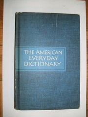 The Random House American everyday dictionary