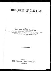 The queen of the isle by May Agnes Fleming