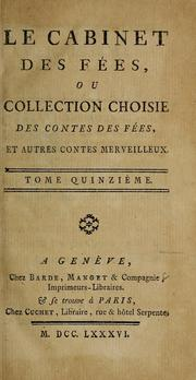 Cover of: Le cabinet des fées |