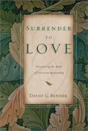 Cover of: Surrender to Love