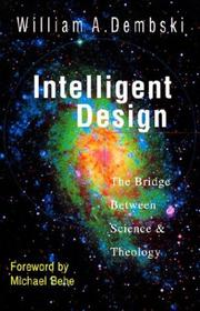 Cover of: Intelligent design