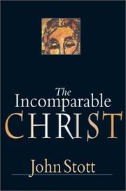 Cover of: The Incomparable Christ