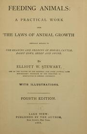 Cover of: Feeding animals | Elliott W. Stewart