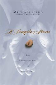 Cover of: A Fragile Stone: The Emotional Life of Simon Peter