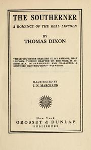 Cover of: The southerner | Dixon, Thomas