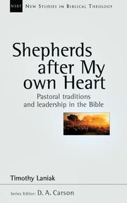 Cover of: Shepherds After My Own Heart