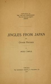 Cover of: Jingles from Japan. | Petur Simple