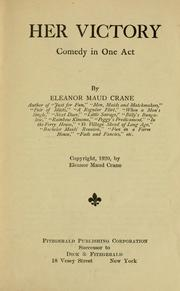 Cover of: Her victory ... | Eleanor Maud Crane