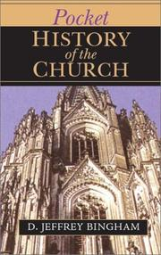 Cover of: Pocket History of the Church