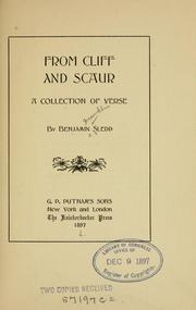 Cover of: From cliff and scaur | Benjamin Franklin Sledd