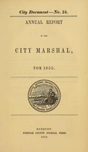[City documents, 1847-1867]