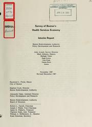Cover of: Survey of Boston