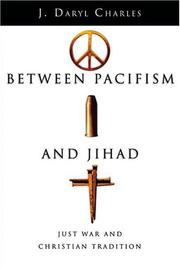 Cover of: Between pacifism and Jihad