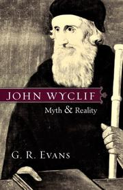 Cover of: John Wyclif: Myth & Reality