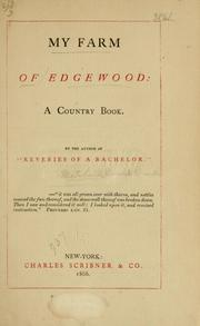 Cover of: My farm of Edgewood | Marvel, Ik.