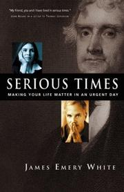 Cover of: Serious times