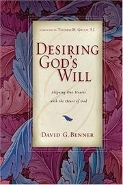 Cover of: Desiring God's Will