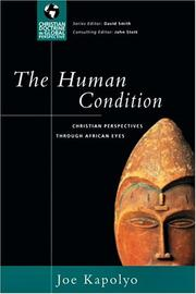 Cover of: The Human Condition | Joe M. Kapolyo