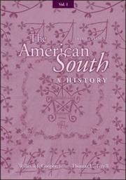 Cover of: Volume I The American South | William C. Cooper