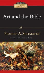 Cover of: Art & the Bible: two essays