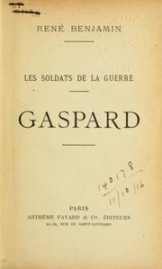 Cover of: Les soldats de la guerre