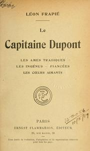 Cover of: Le capitaine Dupont