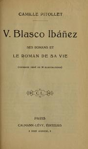 Cover of: V. Blasco Ibáñez