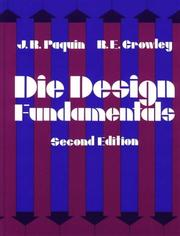 Die design fundamentals paquin