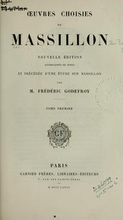 Cover of: Oeuvres choisies by Jean-Baptiste Massillon