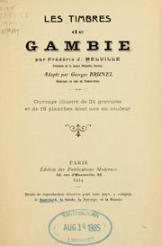Cover of: Les timbres de Gambie