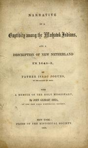 Cover of: Narrative of a captivity among the Mohawk Indians
