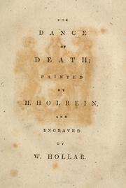 Cover of: The Dance of Death | Hans Holbein, Wenceslaus Hollar