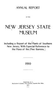 Cover of: The plants of Southern New Jersey with especial reference to the flora of the pine barrens and the geographic distribution of the species | Stone, Witmer