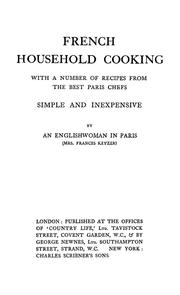 French household cooking