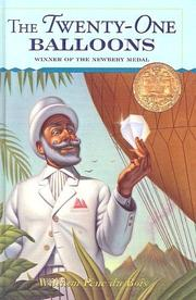 Cover of: The Twenty-One Balloons