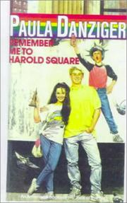 Cover of: Remember Me to Harold Square (Paperstar Book)