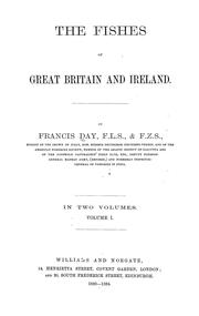 Cover of: The fishes of Great Britain and Ireland. | Francis Day