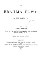 Cover of: The Brahma fowl | Wright, Lewis
