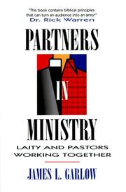 Cover of: Partners in ministry | James L. Garlow