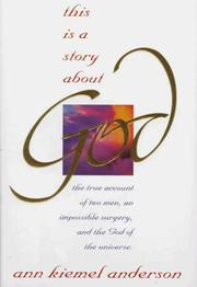 Cover of: This is a story about God