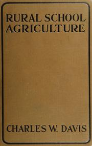 Cover of: Rural school agriculture | Davis, Charles Wesley