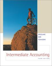 Cover of: Intermediate accounting