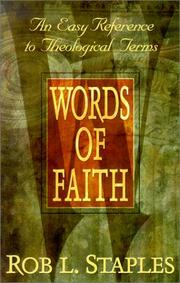 Cover of: Words of Faith