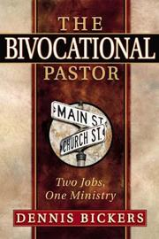 Cover of: The Bivocational Pastor