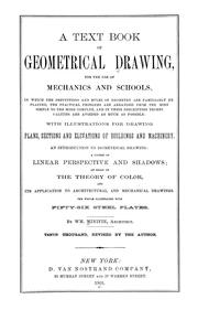 Cover of: A text-book of geometrical drawing | William Minifie