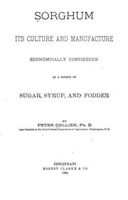 Cover of: Sorghum | Collier, Peter
